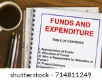 funds  allocation and... | Shutterstock . vector #714811249