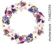 pink bordo violet white... | Shutterstock . vector #714821554