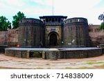 shaniwar wada fort  pune. | Shutterstock . vector #714838009