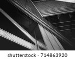 abstract architecture detail | Shutterstock . vector #714863920