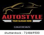 auto car logo | Shutterstock .eps vector #714869500