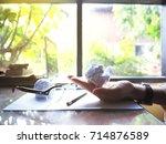 no work no money and no food....   Shutterstock . vector #714876589