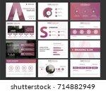 purple business presentation...