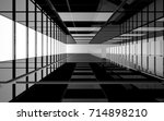 abstract white and black... | Shutterstock . vector #714898210