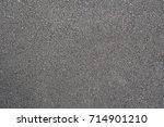 surface rough of asphalt... | Shutterstock . vector #714901210