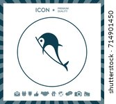 dolphin icon | Shutterstock .eps vector #714901450