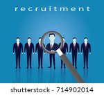 business recruitment concept