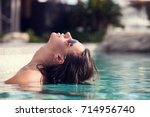 shot of young sexy woman... | Shutterstock . vector #714956740