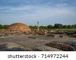 Ananda Stupa With Ashokan...