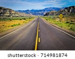 scenic byway of the usa | Shutterstock . vector #714981874