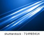 bright abstract futuristic...   Shutterstock .eps vector #714985414