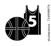 basketball icon | Shutterstock .eps vector #714998974
