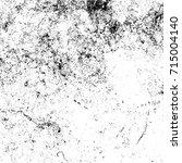 overlay aged grainy messy... | Shutterstock .eps vector #715004140