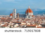 florence cathedral duomo | Shutterstock . vector #715017838