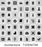 medical icons | Shutterstock .eps vector #715036738