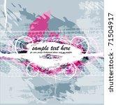 beautiful grunge background | Shutterstock .eps vector #71504917