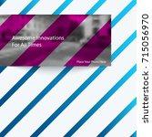 abstract vector design elements ... | Shutterstock .eps vector #715056970