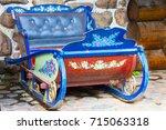 russia  moscow  izmaylovsky... | Shutterstock . vector #715063318
