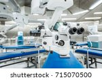 ophthalmology operation room... | Shutterstock . vector #715070500