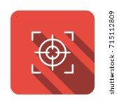 focus icon | Shutterstock .eps vector #715112809