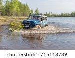 russia  raduzhny   june 17 ... | Shutterstock . vector #715113739