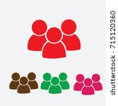 people icon | Shutterstock .eps vector #715120360