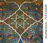 blur in iran abstract texture...   Shutterstock . vector #715132039