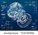 abstract vector circular...