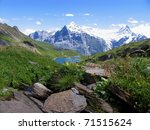 Swiss Beauty  Schreckhorn And...