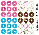 donut clip art illustrations...
