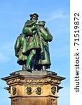 statue of johannes gutenberg  ... | Shutterstock . vector #71519872