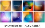 abstract creative concept... | Shutterstock .eps vector #715273864