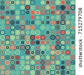 geometric pattern design  | Shutterstock .eps vector #715279708