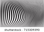 optical art abstract background ... | Shutterstock . vector #715309390