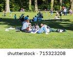 strasbourg  france   april  30  ... | Shutterstock . vector #715323208