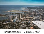 aerial view of downtown st.... | Shutterstock . vector #715333750