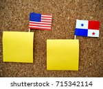 flags of unites states and...   Shutterstock . vector #715342114