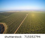 beautiful aerial view of large...   Shutterstock . vector #715352794