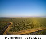 beautiful aerial view of large...   Shutterstock . vector #715352818