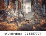 lviv  ukraine   november 1 ... | Shutterstock . vector #715357774