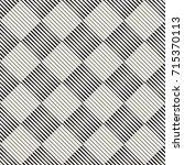 vector seamless pattern. modern ... | Shutterstock .eps vector #715370113