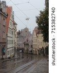 the city of augsburg | Shutterstock . vector #715382740