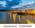 chernomorets  bulgaria   august ... | Shutterstock . vector #715391848