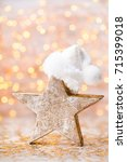 christmas and new year theme... | Shutterstock . vector #715399018