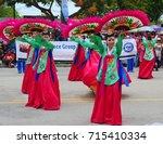 saipan  cnmi july 2015  members ... | Shutterstock . vector #715410334