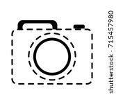photographic camera icon  | Shutterstock .eps vector #715457980