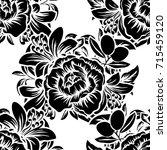 abstract elegance seamless... | Shutterstock . vector #715459120