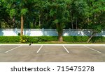 parking lot car park. | Shutterstock . vector #715475278