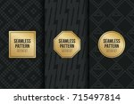 abstract concept vector... | Shutterstock .eps vector #715497814