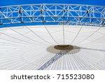 part of a modern roof  ... | Shutterstock . vector #715523080
